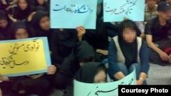 اعتصاب غذای دانشجويان دانشگاه سهند تبريز وارد پنجمين روز شد