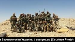 Наёмнікі зпрыватнай ваеннай кампаніі «Вагнэр» у Сырыі