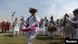 مراسم نوروز در افغانستان