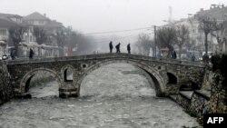 Pamje nga qyteti i vjetër i Prizrenit, foto nga arkivi