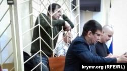 Володимир Балух у суді в анексованому Росією Криму, 11 квітня 2018 року
