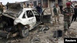 آثار تفجير في الموصل