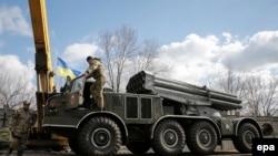 Вывод тяжелых вооружений в Донбассе