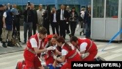 Samo u prošloj godini bilo je 12 žrtava; foto. pokazna vježba u Sarajevu