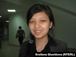 Инар Таушева, студентка Евразийского национального университета им. Л. Н. Гумилева.