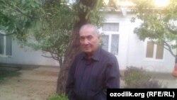 Адабиëтшунос олим Бахтиëр Исабеков.