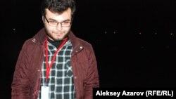 Участник кинофестиваля Георгий Мухадзе из Грузии. Алматы, 22 октября 2014 года.
