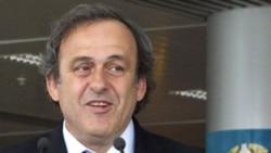 УЕФА президенті Мишель Платини. Украина, 12 сәуір 2012 жыл.