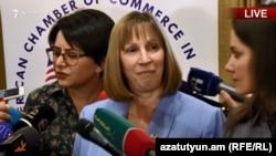 Посол США в Армении Линн Трейси, Ереван, 15 мая 2019 г.