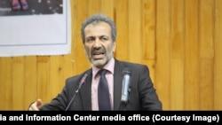 نجیب آقا فهیم، وزیر دولت در امور رسیدگی به رویدادهای طبیعی افغانستان
