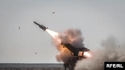 Test Firing Of Mersad-16 Missile
