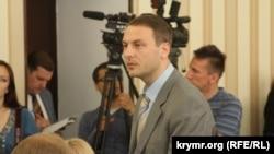 Арестованный министр промышленной политики республики Крым Андрей Скрынник