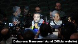 غلامرضا سلیمانی، در گفتوگو با خبرنگاران، پس از مراسم معارفهاش در تیرماه ۹۸