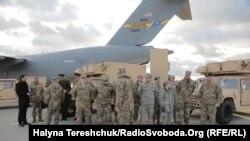 Радіолокаційні станції контрбатарейної боротьби, отримані Україною від США у рамках військової допомоги, листопад 2015 року