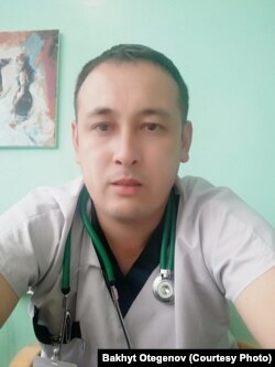 Врач-инфекционист Бакыт Утаганов.