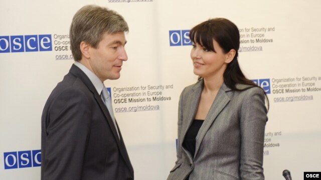 Eugen Carpov şi Nina Ştanski
