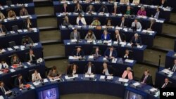 In Parlamentul European la Strasbourg