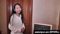 Հայ-չինական բարեկամության դպրոցի ուսուցչուհի Սինյու Շի