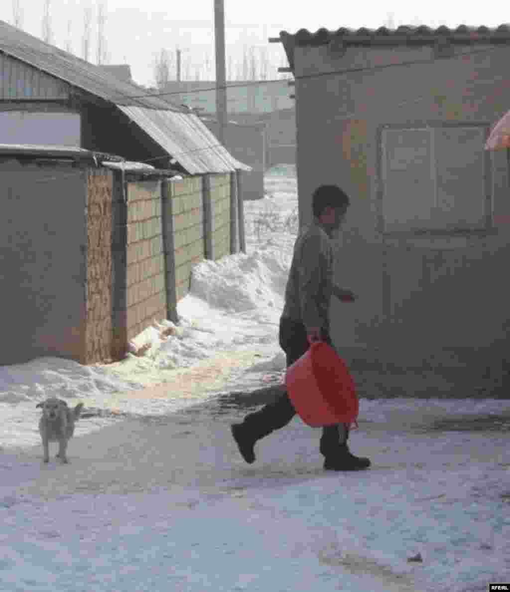 Бишкекские новостройки зимой #2