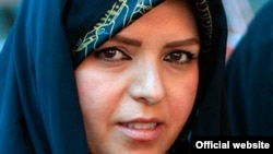 Naeimeh Eshraghi, granddaughter of Ayatollah Khomeini, the founder of Iran's Islamic republic