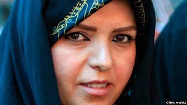 Naeimeh Eshraghi, granddaughter of Ayatollah Khomeini, the founder of Iran's Islamic republic