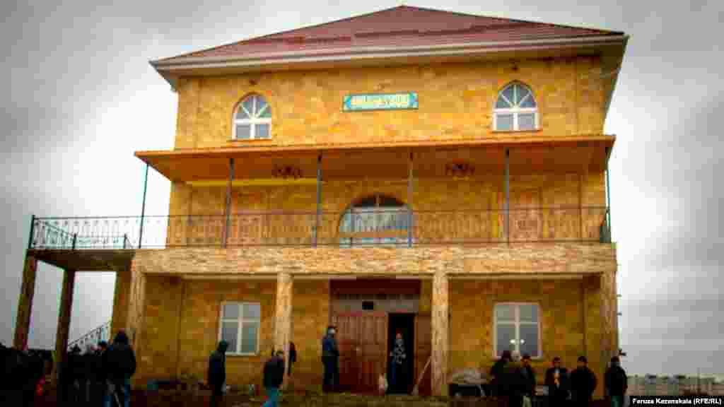 Акція проходила в будівлі мечеті, що її російська влада міста має намір знести