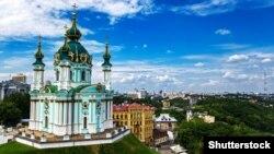 Андріївська церква в Києві, яку передають в безоплатне користування Вселенському патріархату. Церква збудована в 1747–1762 роках