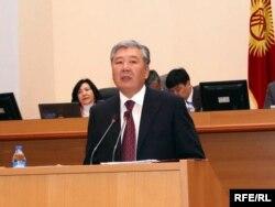 Данияр Усенов.