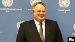 Шефот на грчката дипломатија, Никос Коцијас