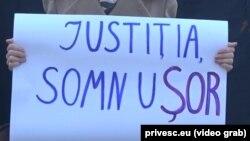 La un flash mob PAS cerând justiție în cazaul Ilan Shor