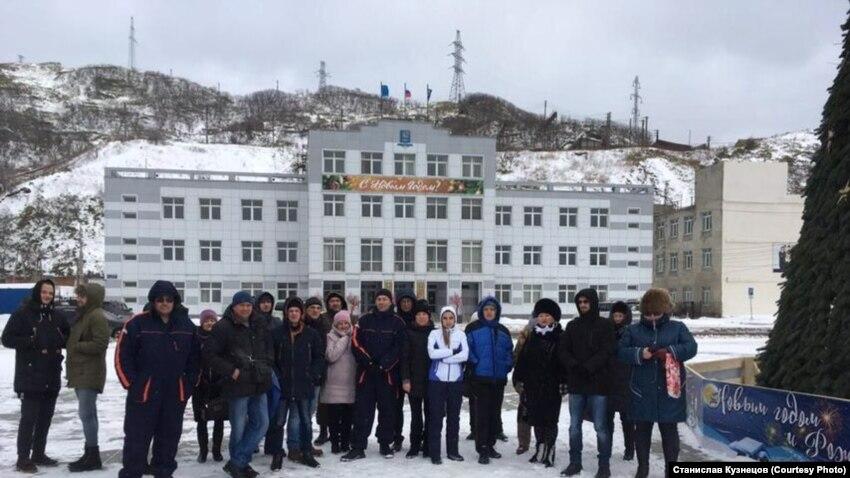 Россия: на Сахалине жители региона проводят народные сходы против передачи Курил