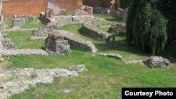 Развалины императорского дворца в Медиолануме