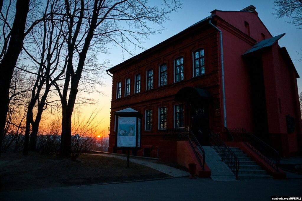Арт-цэнтар Марка Шагала на левым беразе Заходняй Дзьвіны