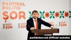 Ilan Șor la începutul campaniei electorale 2019