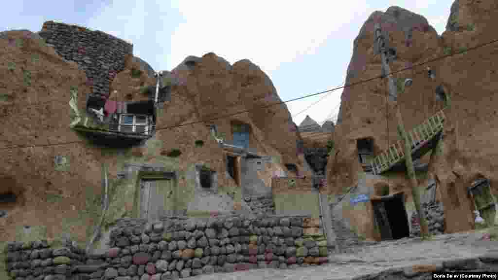 Some 680 people live in the village of Kandovan, near the city of Tabriz in Iran's East Azerbaijan Province.