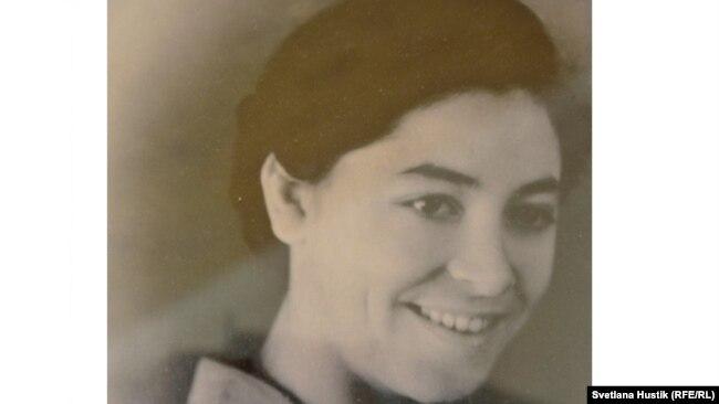 Полина Бауэр в молодости