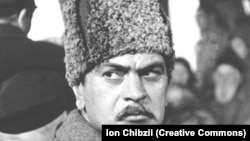 """Ion Ungureanu în filmului """"Furtuna roșie""""m Moldova-film, 1971."""