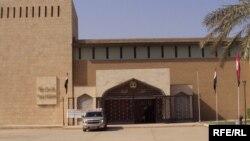 مدخل المتحف العراقي ببغداد