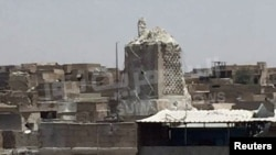 ალ-ნურის დიდი მეჩეთის ნანგრევები