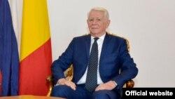 Șeful diplomației române, Teodor Meleșcanu