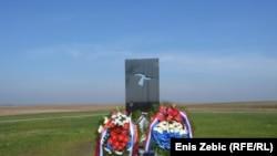 Spomenik ubijenima na Ovčari 1991. godine