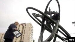 Ukrainë - Monumenti i viktimave të tragjedisë