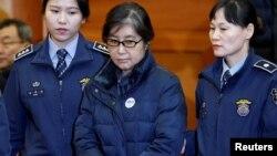 Пак Кын Хе, бывший президент Южной Кореи (архивное фото, январь 2017)