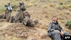 مقاتلون من حزب العمال الكردستاني التركي