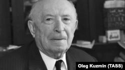 Историк Исаак Минц, 1974 год