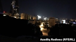 Electricity was restored in many parts of Baku early on July 3.