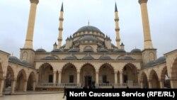 """Мечеть """"Сердце Чечни"""", архивное фото"""