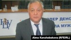 Мирзакарим Алчинбаев, гендиректор Научного центра урологии. Алматы, 22 ноября 2013 года.