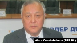 Урология ғылыми орталығының бас директоры Мырзакәрім Алшынбаев. 22 қараша 2013 жыл.
