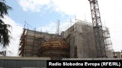 Црквата Св. Констатин и Елена во Скопје.